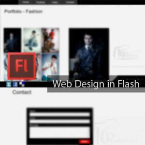 طراحی وب سایت فلش