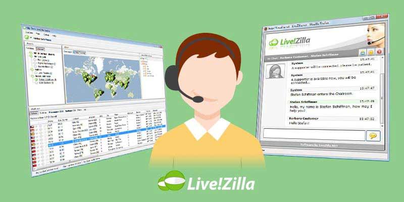 Livezilla چت آنلاین