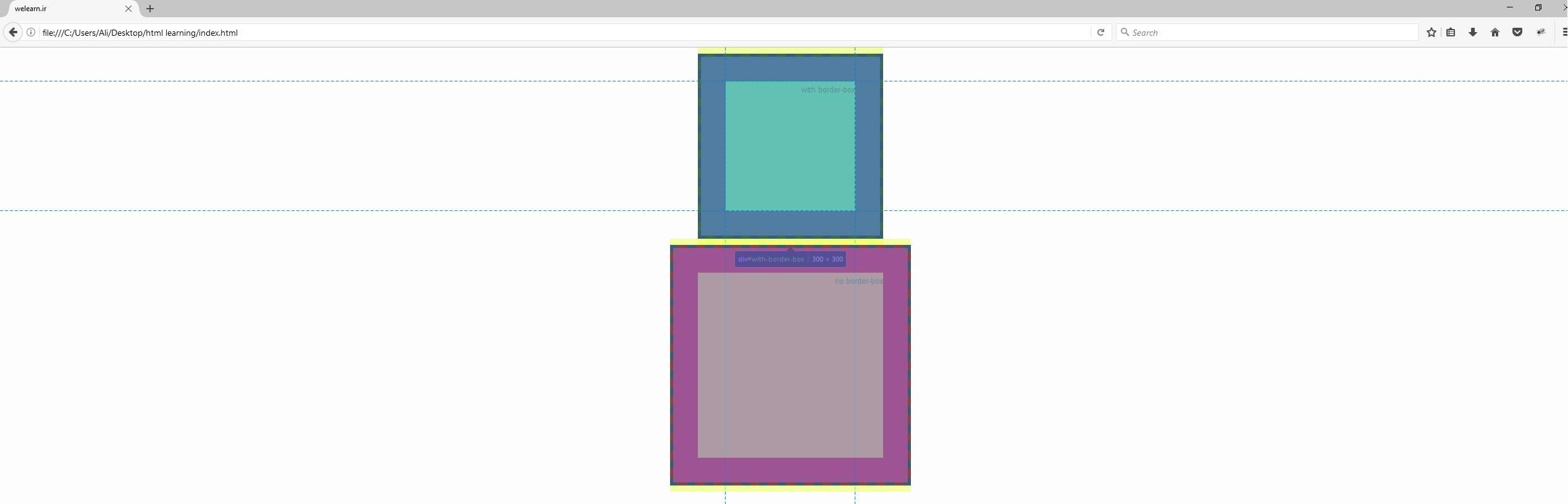 html,css,box-sizing,margin,padding,border
